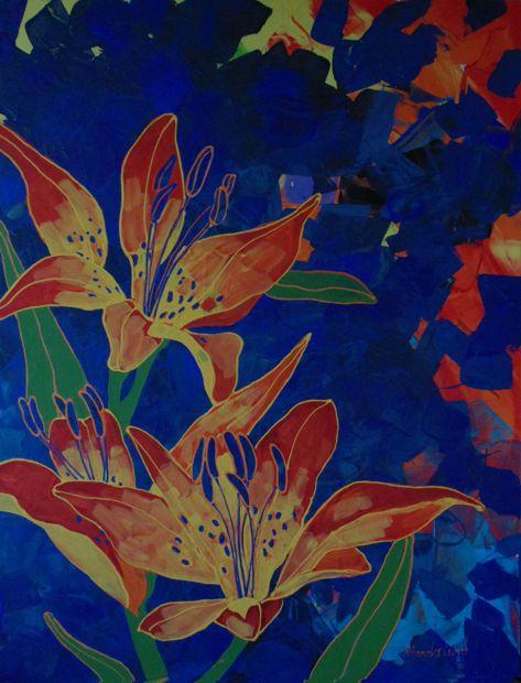 Wood Lilies III